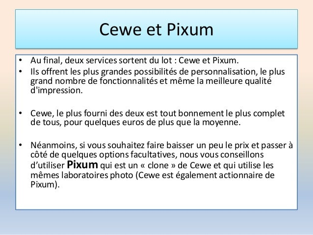 PIXUM TÉLÉCHARGER UNIVERS PHOTO