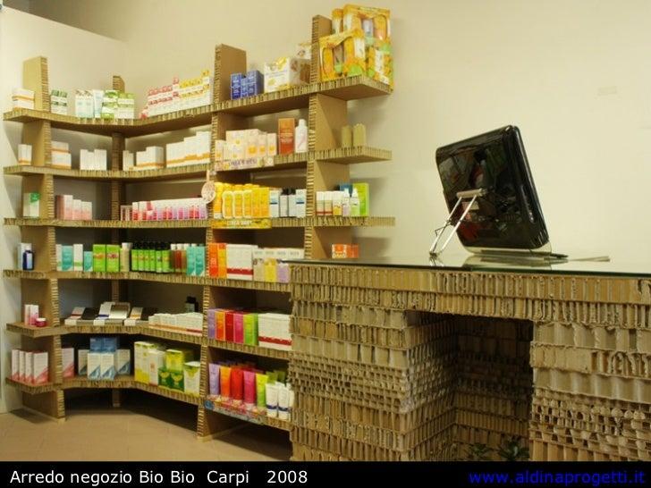 Arredamento negozi for Arredamento bio