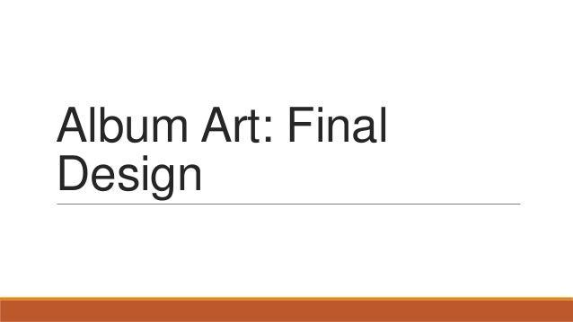 Album Art: Final Design