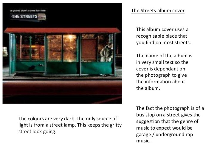 The Streets album cover                                                       This album cover uses a                     ...