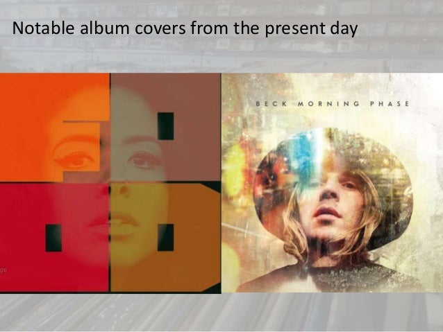 Notable album covers from the present day
