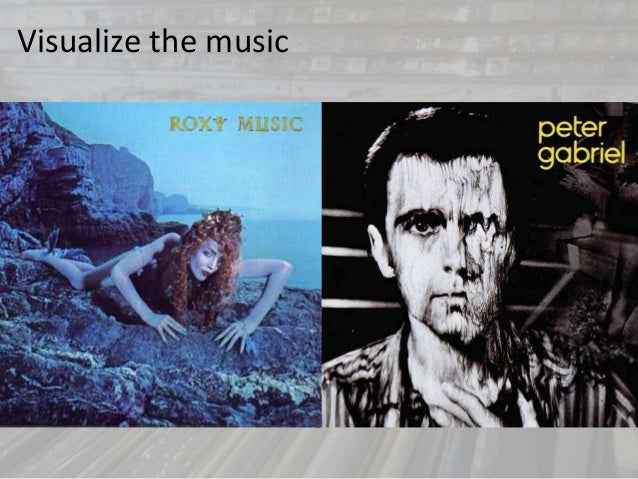 Visualize the music