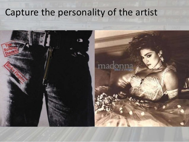 Capture the personality of the artist