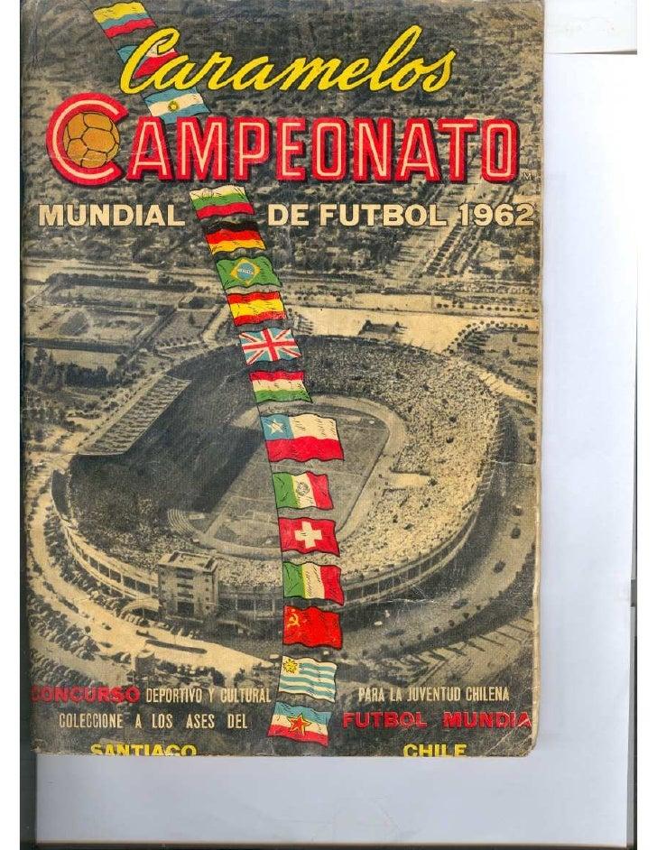 Album da copa 1962