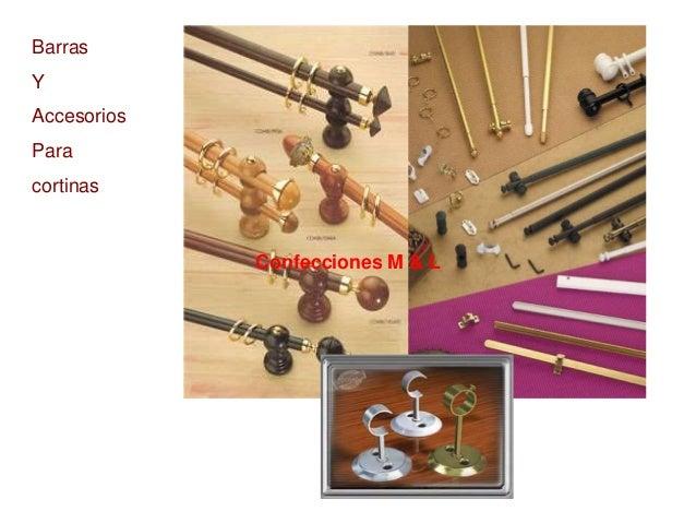 Album de cortinas for Accesorios para cortinas