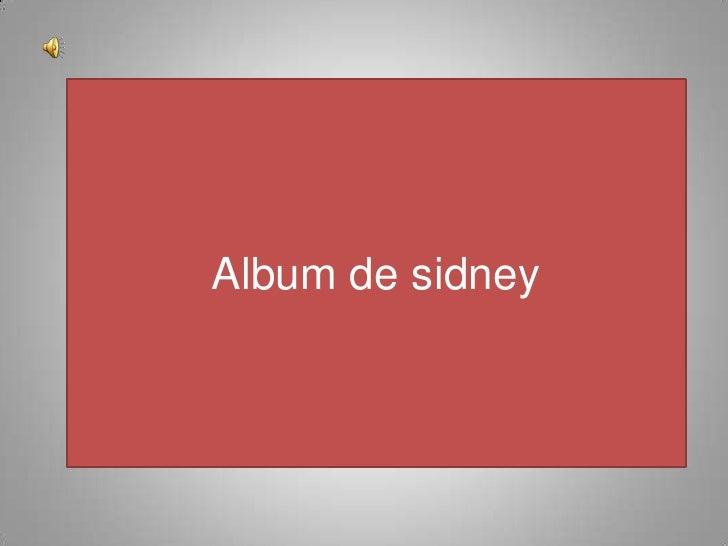 Album de sidney<br />