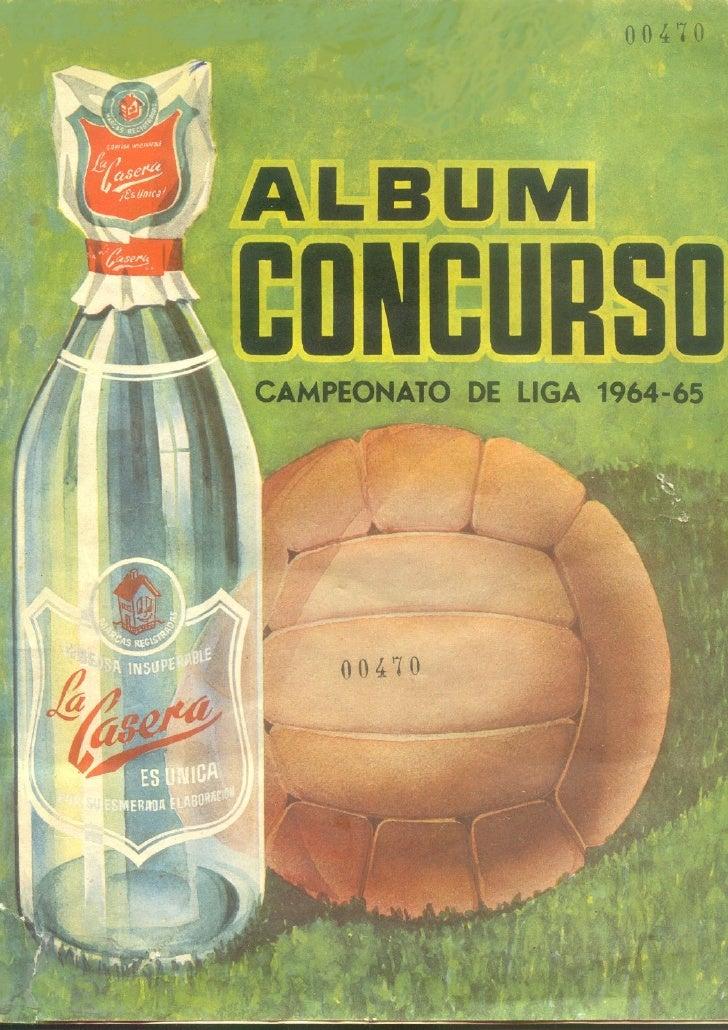 Album Futbol 1964 65
