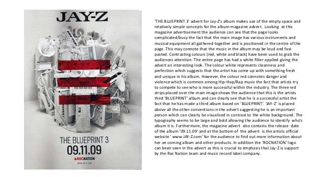 Album magazine advertisement analysis 3 the blueprint 3 advert for jay zs malvernweather Gallery