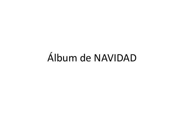 Álbum de NAVIDAD