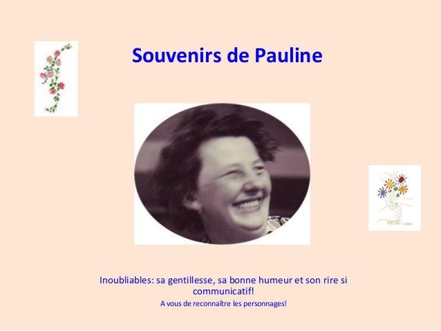 Album photo Inoubliables: sa gentillesse, sa bonne humeur et son rire si communicatif! A vous de reconnaître les personnag...
