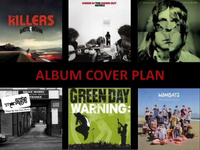 ANALYSIS OF OTHER ALBUM COVERS• Other album covers such as 'Battle Born', 'Warning'  and 'Only by the night' are all stere...