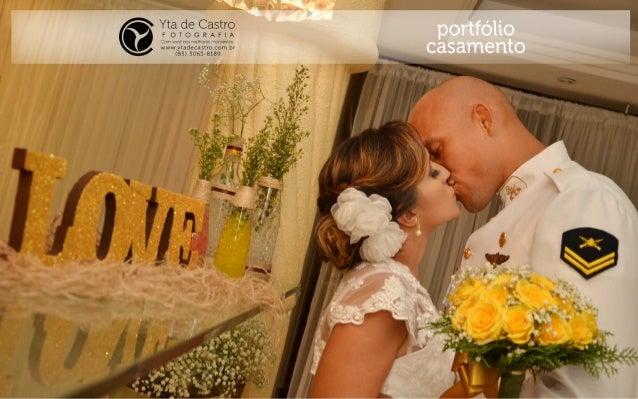 Portfólio Casamento YTA DE CASTRO FOTOGRAFIA