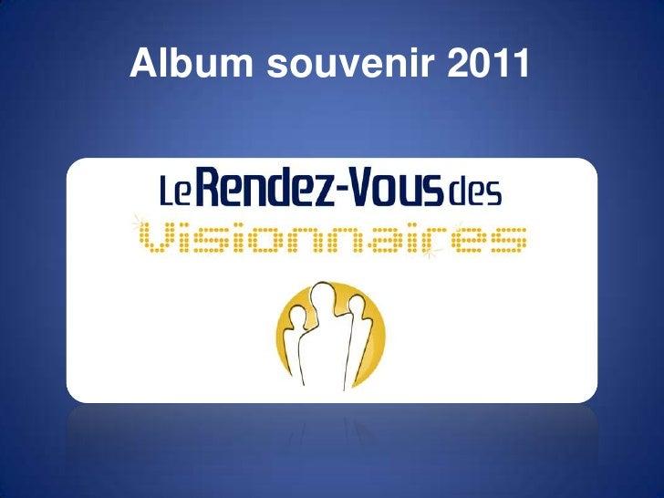 Album souvenir 2011<br />