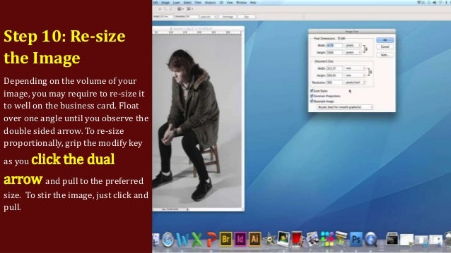 How to make a business card on photoshop 14 colourmoves