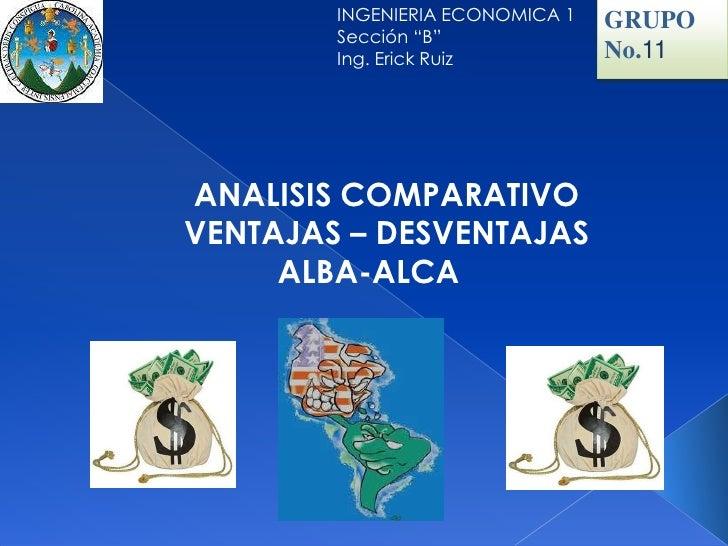 Alca versus alba for Grupo alca