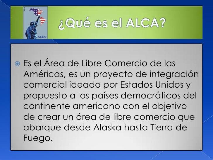 Alca versus alba for Que es el comercio interior