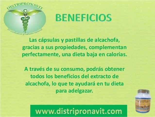 Planta alcachofa sirve para adelgazar