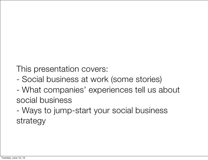 Social by design: jump-start your social business strategy Slide 2