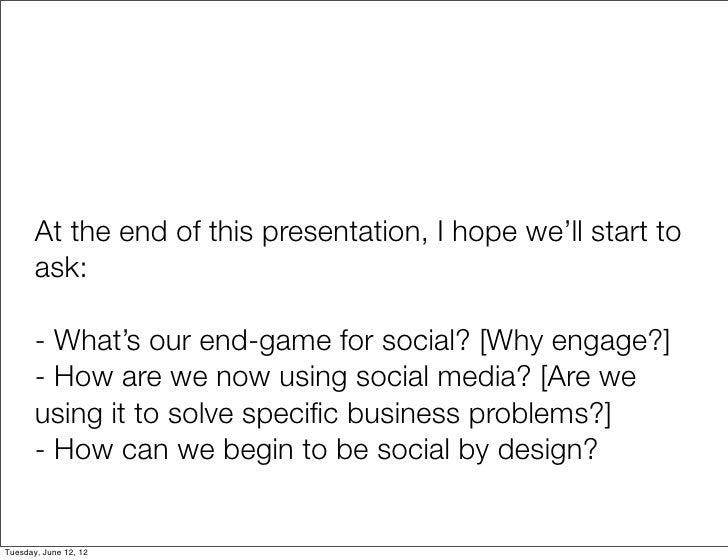 Social by design: jump-start your social business strategy Slide 3