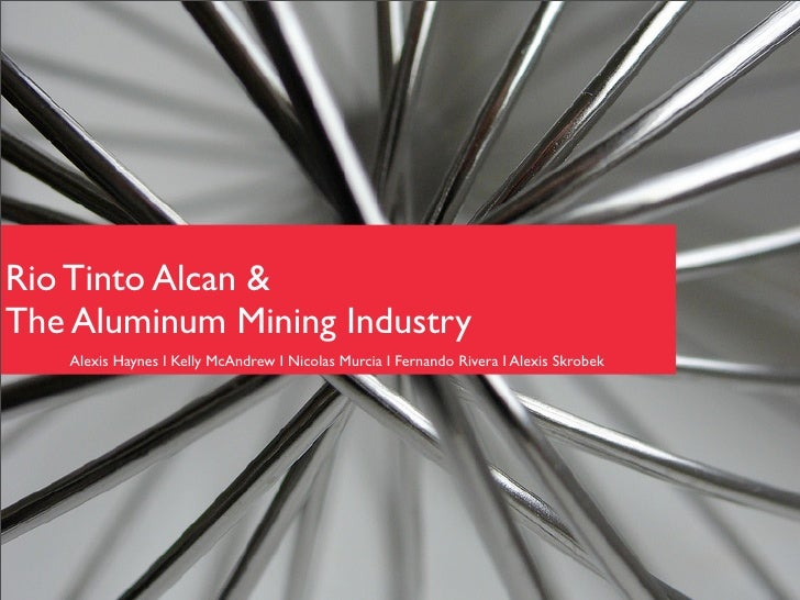 rio tinto case study analysis Rio tinto, fer et titane  case study rio tinto rio tinto,  to handle a similar problem in the past, an outside statistical analysis firm had been employed.