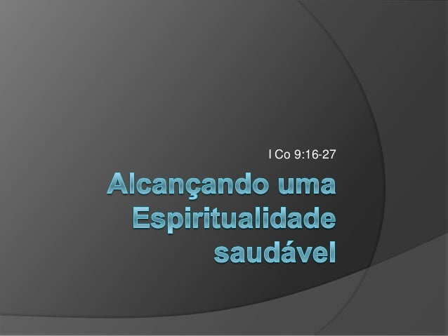 I Co 9:16-27