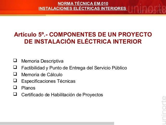 Alcances y objetivos inst electricas for Certificado de instalacion electrica