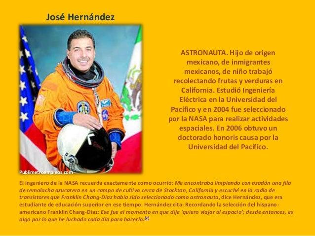 biografia de jose hernandez astronauta - photo #22