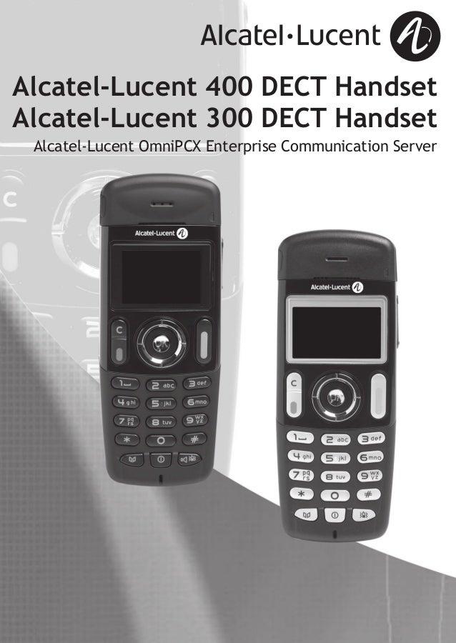 alcatel lucent 400 dect user guide rh slideshare net alcatel user's guide alcatel user guide 4020