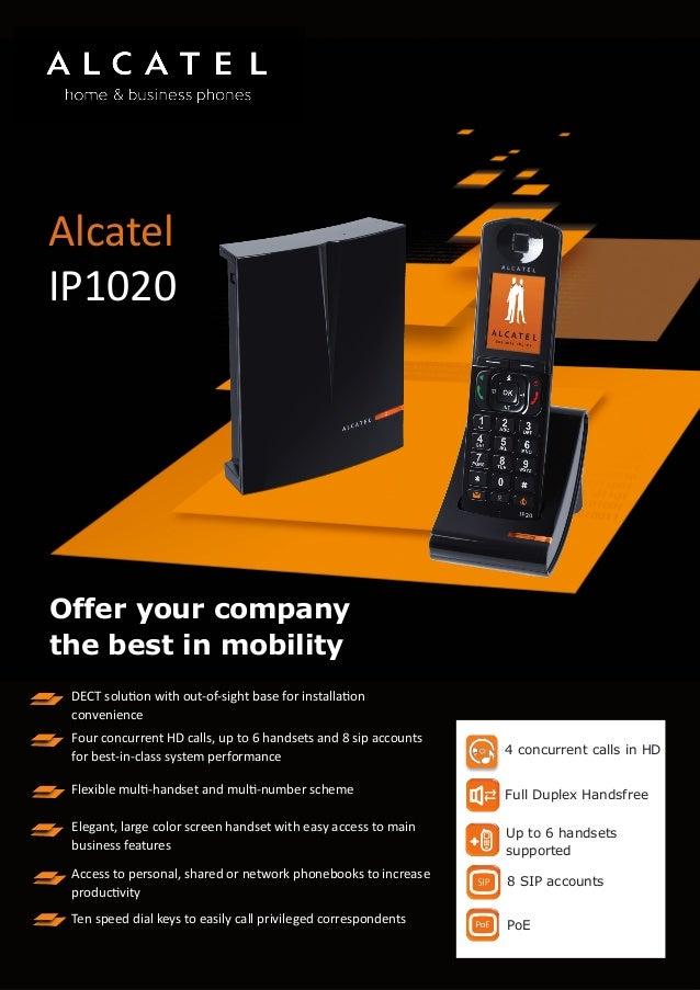 Alcatel phone-IP1020
