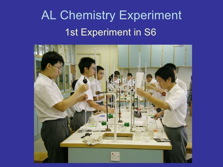 Al chemistry experiment Slide 2