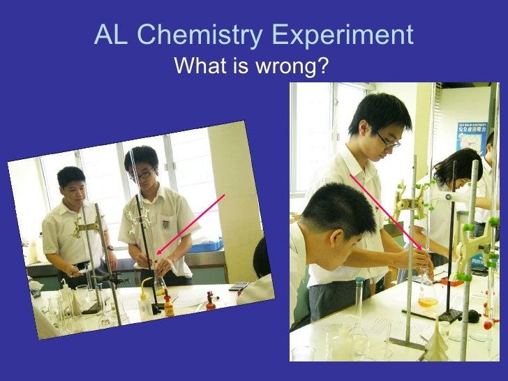 Al chemistry experiment Slide 3