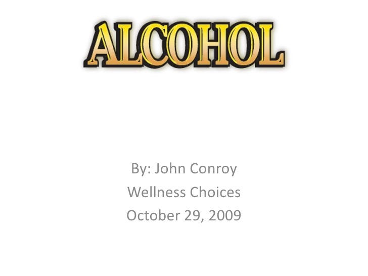 By: John Conroy<br />Wellness Choices<br />October 29, 2009<br />