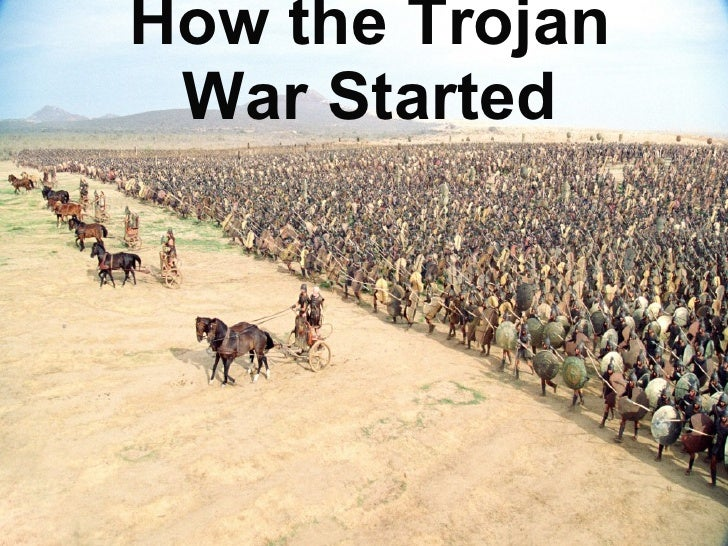How the Trojan War Started