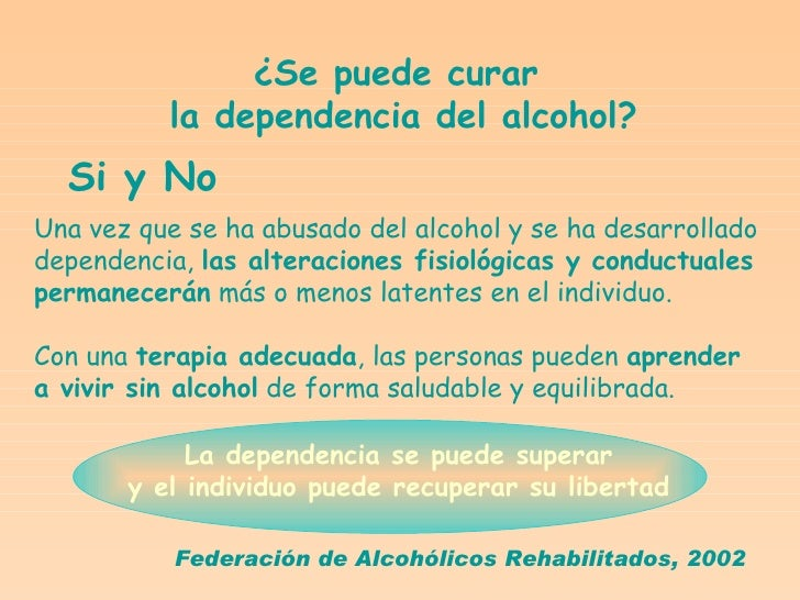 El tratamiento del alcoholismo crónico por los medios medicinales