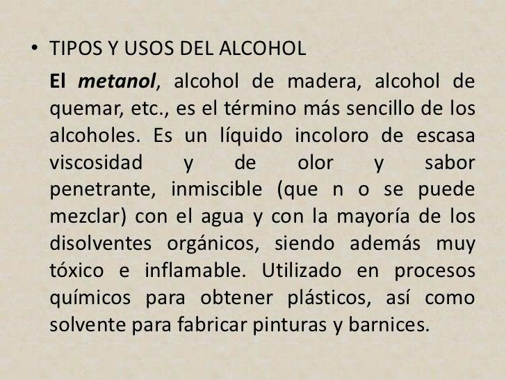 Alcohol universidad central del ecuador - Usos del alcohol ...
