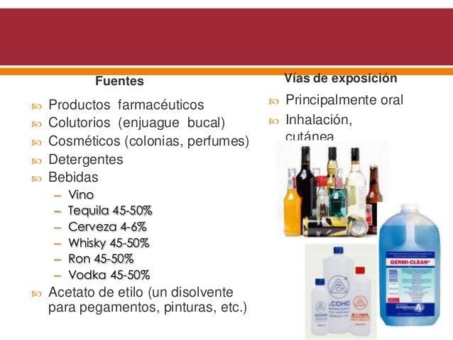 Intoxicaci n por alcohol et lico met lico y etilenglicol - Usos del alcohol ...