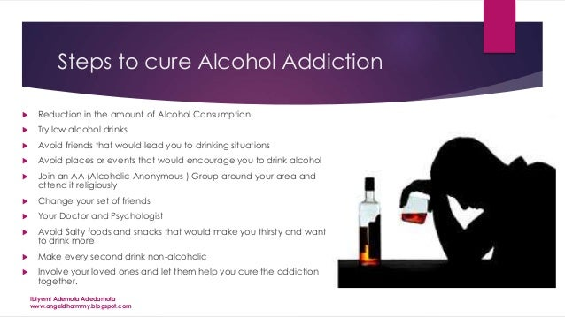 alcohol the drink, the addiction and the solution11 steps to cure alcohol addiction