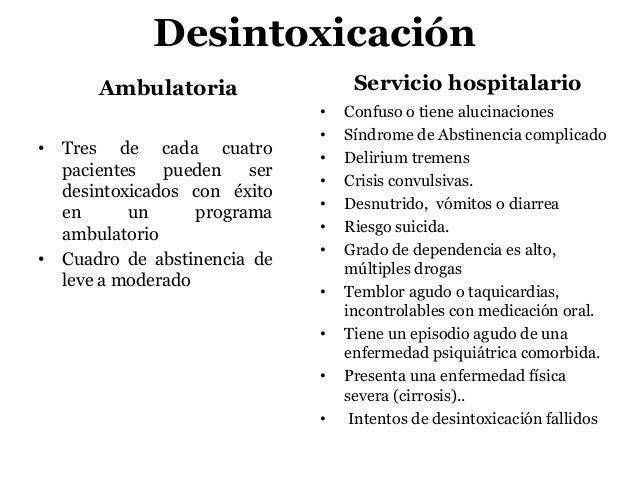 El tratamiento de la dependencia alcohólica labinsk