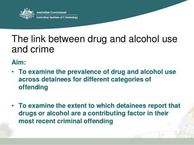 an analysis of drug use and crime Arrestee drug abuse monitoring (adam) program drug crime (national  criminal justice reference service) back to top back to top.