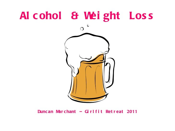 Alcohol & Weight Loss Duncan Marchant – Girlfit Retreat 2011