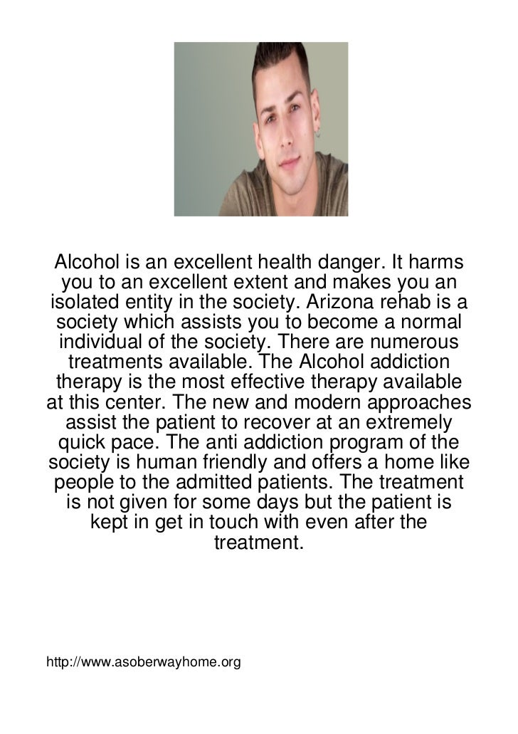 Alcohol is an excellent health danger. It harms  you to an excellent extent and makes you anisolated entity in the society...