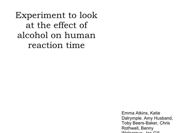 human and animal reaction time Experiment: how fast your brain reacts to stimuli looking at your data you might be thinking how you compare to the human average reaction time here it is.