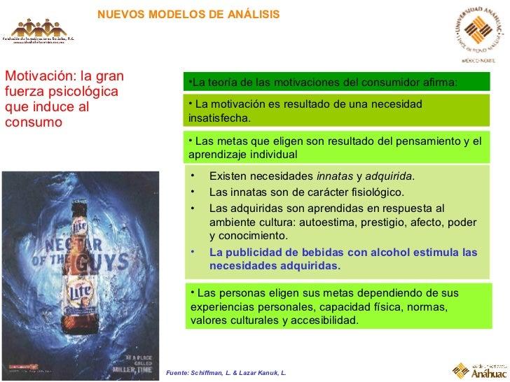 NUEVOS MODELOS DE ANÁLISIS Motivación: la gran fuerza psicológica que induce al consumo <ul><li>La motivación es resultado...