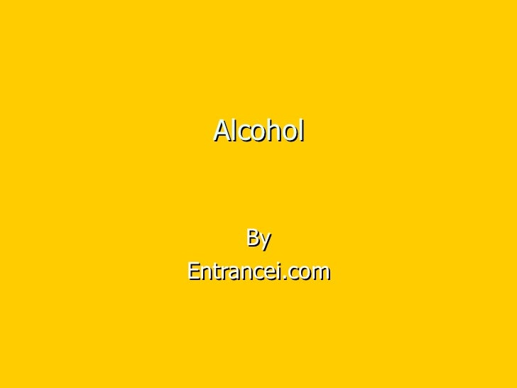 Alcohol By Entrancei.com