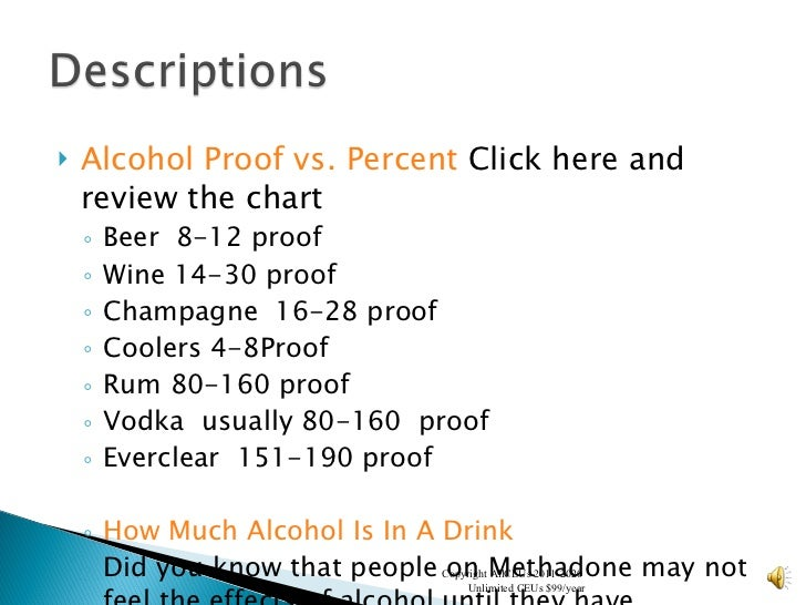 Alcohol and drugs week 3