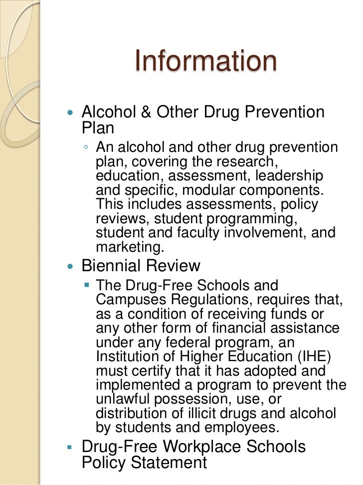 Study alcohol and other drugs
