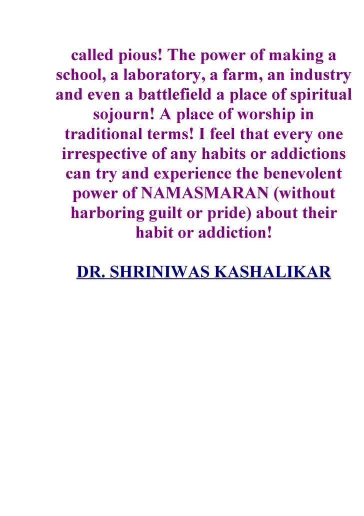 called pious! The power of making a school, a laboratory, a farm, an industry and even a battlefield a place of spiritual ...