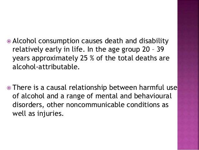Alcohol as public health problem  Slide 3