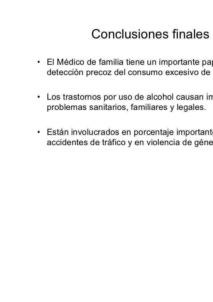 Alcohol atencion primaria