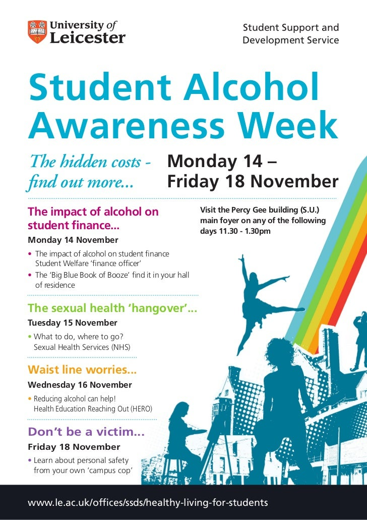 Student Support and                                                                   Development ServiceStudent AlcoholAw...
